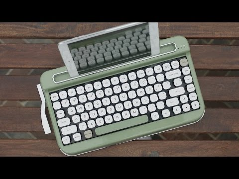 Retro Typewriter Style Bluetooth Keyboard