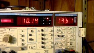 Crate 50 Vacuum Tube EL34 Guitar Amplifier Under Repair and Test - Part 1.wmv