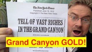 secret grand canyon gold mine bix weir