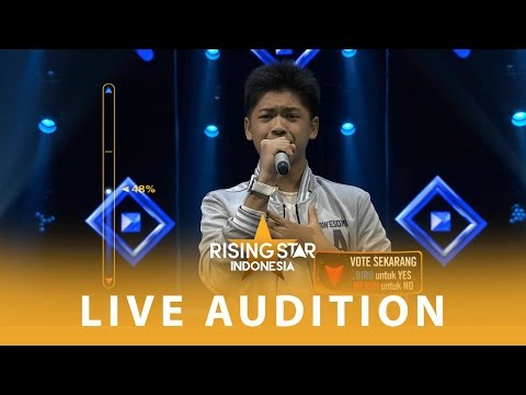 Rayhan Satria Pamit   Audition 3  Rising Star Indonesia 2016