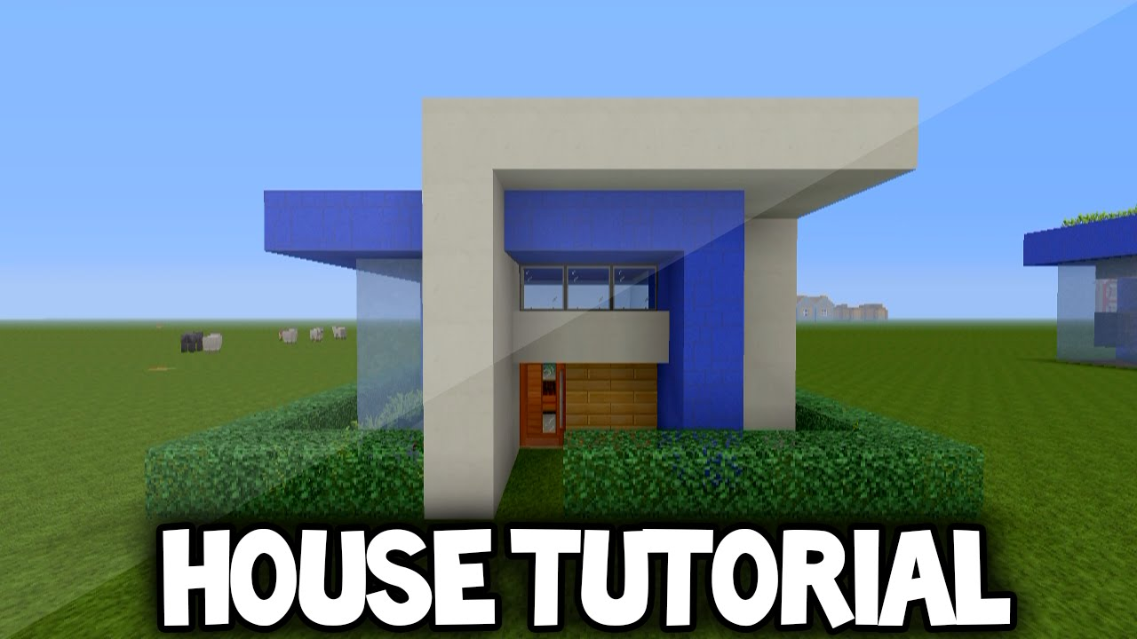 Minecraft simple modern house tutorial xbox 360 ps3 xbox for Modern house xbox minecraft