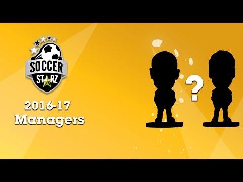 Meet the SoccerStarz 2016-17 Managers