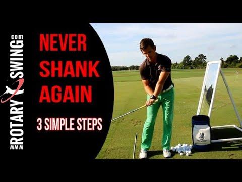 Never Shank The Golf Ball Again - 3 Simple Steps