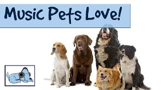 Music For Pets - Music Pets Love - relax your pet