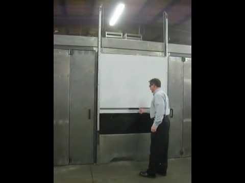 TAMER INDUSTRIES MANUAL LEXAN LIFT-UP DOOR