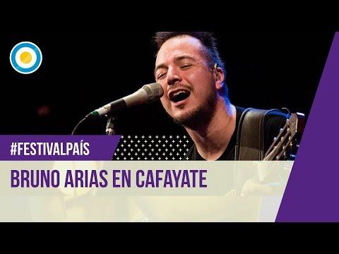 Bruno Arias en la Serenata a Cafayate 2016