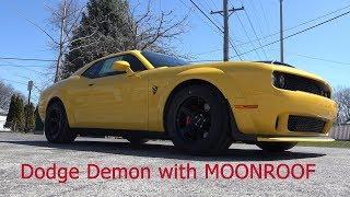 Full Review -2018 Yellow Dodge Demon Challenger SRT w/MoonRoof