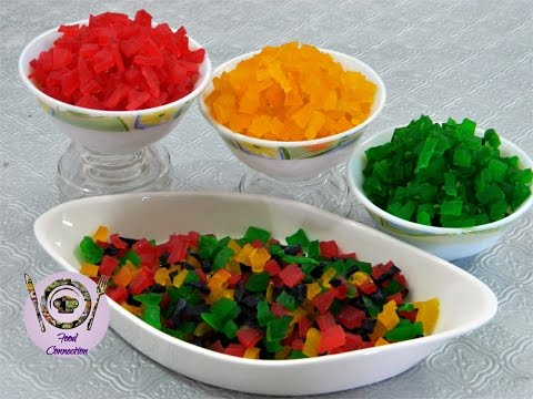 Tutti Frutti / Candied Papaya / Fruit Candy - By Food Connection