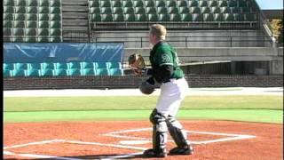 catcher drill 6 dominate pop ups behind plate by winning baseball