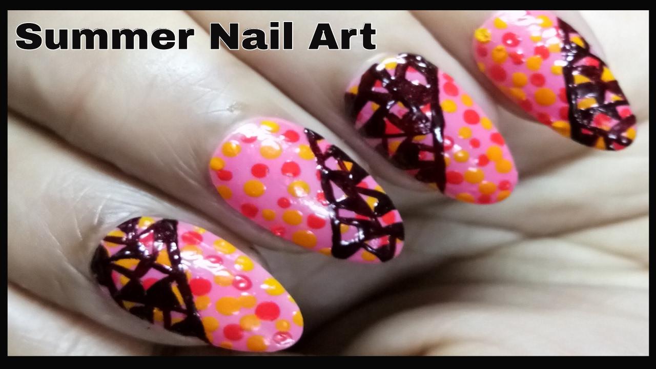 simple nail art design 2017