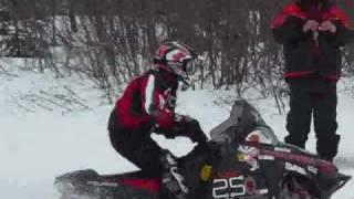 2009 Snowmobile Handling Test Set 2 Zero Emissions