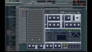 FL Studio Remake: Quintino - Circuits (Drop)  [DiegoMolinams]