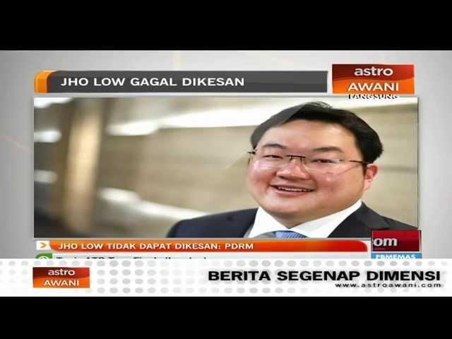 Jho Low gagal dikesan - PDRM