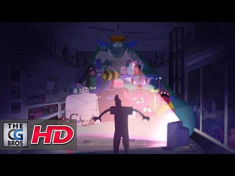 "CGI 2D Animated Short: ""ShockTherapy""  - by Bat Collective"