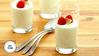 Easy Lime Mousse  Oh Yum with Anna Olson