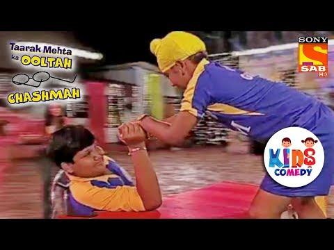 Goli Arm Wrestles Gogi | Tapu Sena Special | Taarak Mehta Ka Ooltah Chashmah