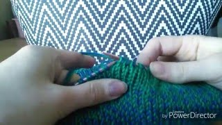 Double knitting, decreasing, t…