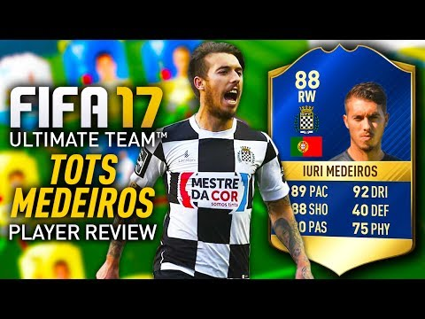 FIFA 17 TOTS MEDEIROS (88) *BUDGET GEM?!* PLAYER REVIEW! FIFA 17 ULTIMATE TEAM!