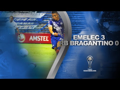 Emelec Bragantino Goals And Highlights