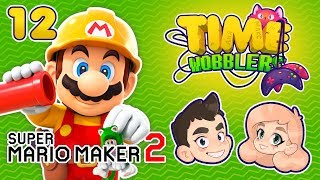 Super Mario Maker 2 - ЧАСТЬ #12: Кот Марио   Time Wobblers
