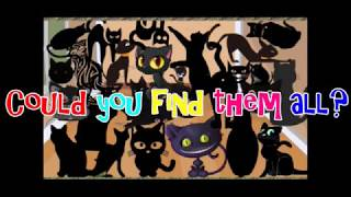 How many Black Cats did you find? Count them with Granny B.