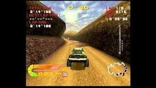 Dreamcast Games: 4 wheel thunder championship mode