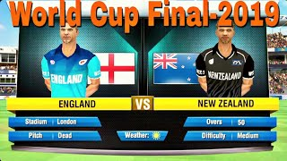 World cup Final Match-2019 New Zealand vs England wcc2 gameplay