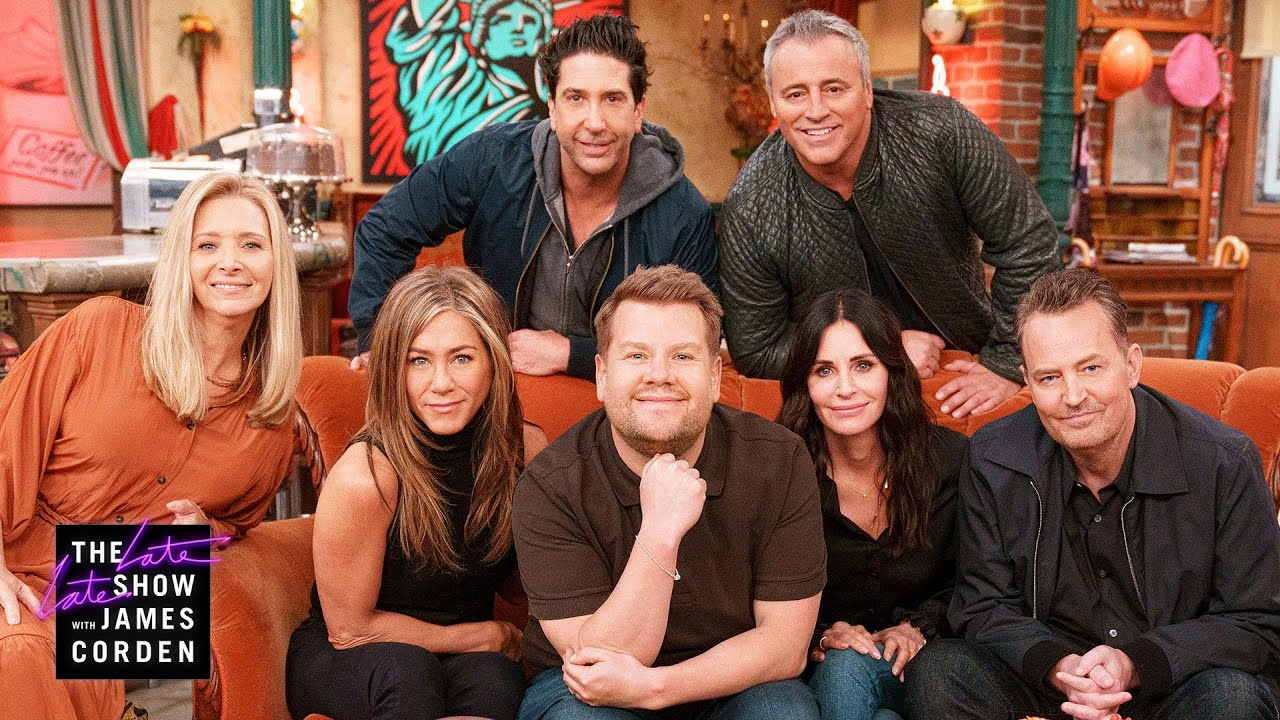 Download James Corden Visits the Cast at the 'Friends' Reunion