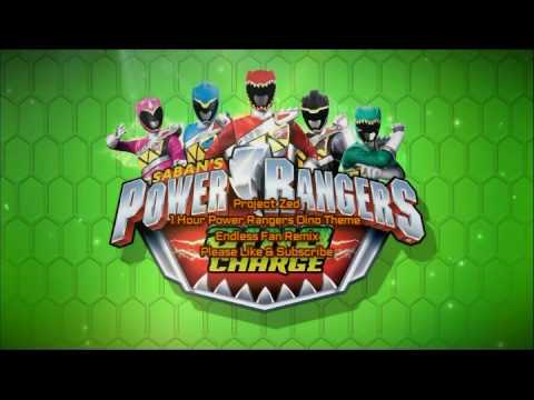 Power Rangers Dino Theme 1 Hour Seamless