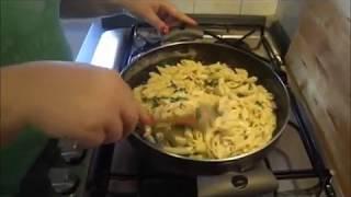 Pasta Pancetta Rucola E Panna