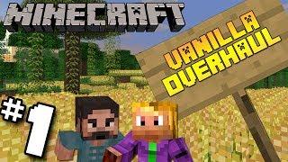 #1 Minecraft Vanilla Overhaul Modpack | I'm Hungry