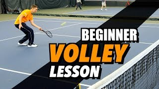 Ultimate Tennis Volley Lesson - Drills and Tips For Beginners