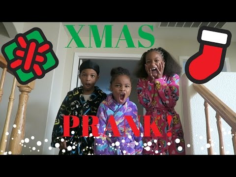 Merry Christmas PRANK On The Kids!!!