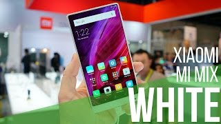 Hands-on with the new WHITE Xiaomi Mi Mix