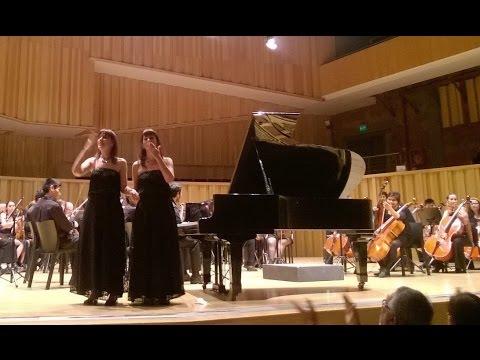 Kozeluh - Concerto in B flat major / Fabiana & Paula Chávez - piano four-hands