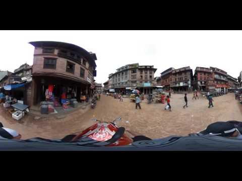 Bhaktapur, Nepal, May 2016, 360 video
