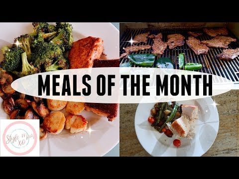 WHAT'S FOR DINNER?   EASY DINNER IDEAS   MEALS OF THE MONTH   STYLE MOM XO