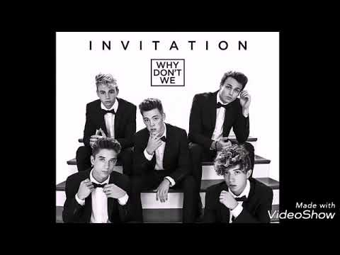 Why dont we invitation lyrics youtube why dont we invitation lyrics stopboris Image collections