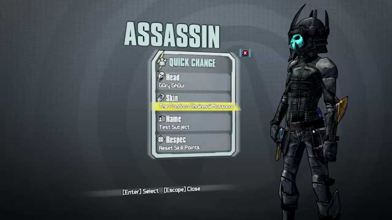 Borderlands 2: Assault on Dragon Keep Skins for Zero ...