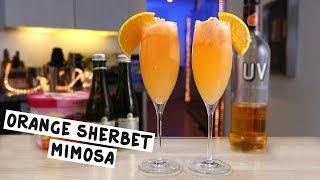Orange Sherbet Mimosa