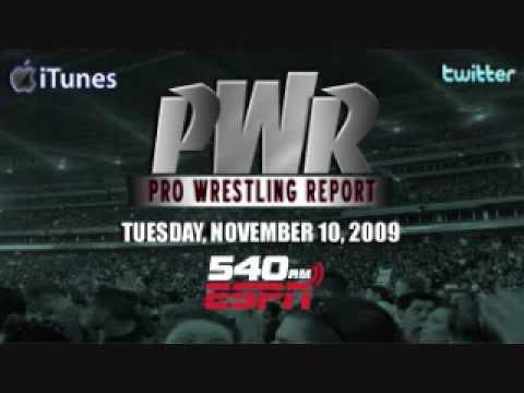 Dixie Carter Address, Shane McMahons Departure - PWR on ESPN Radio 11/11/09