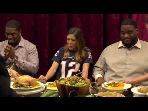 Katie Nolan, Damien Woody and Jonathan Vilma try Tom Brady's Thanksgiving diet | ESPN