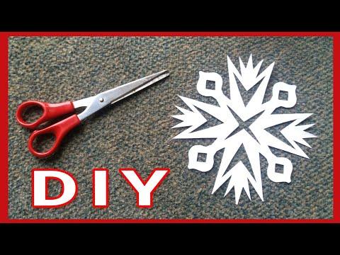 DIY • Papier - Stern schneiden / cut paper star  * Julebuergerfee
