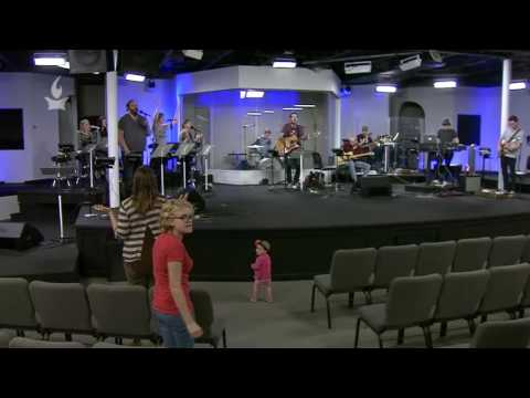 Crazy baby storms stage at IHOPKC Prayer Room