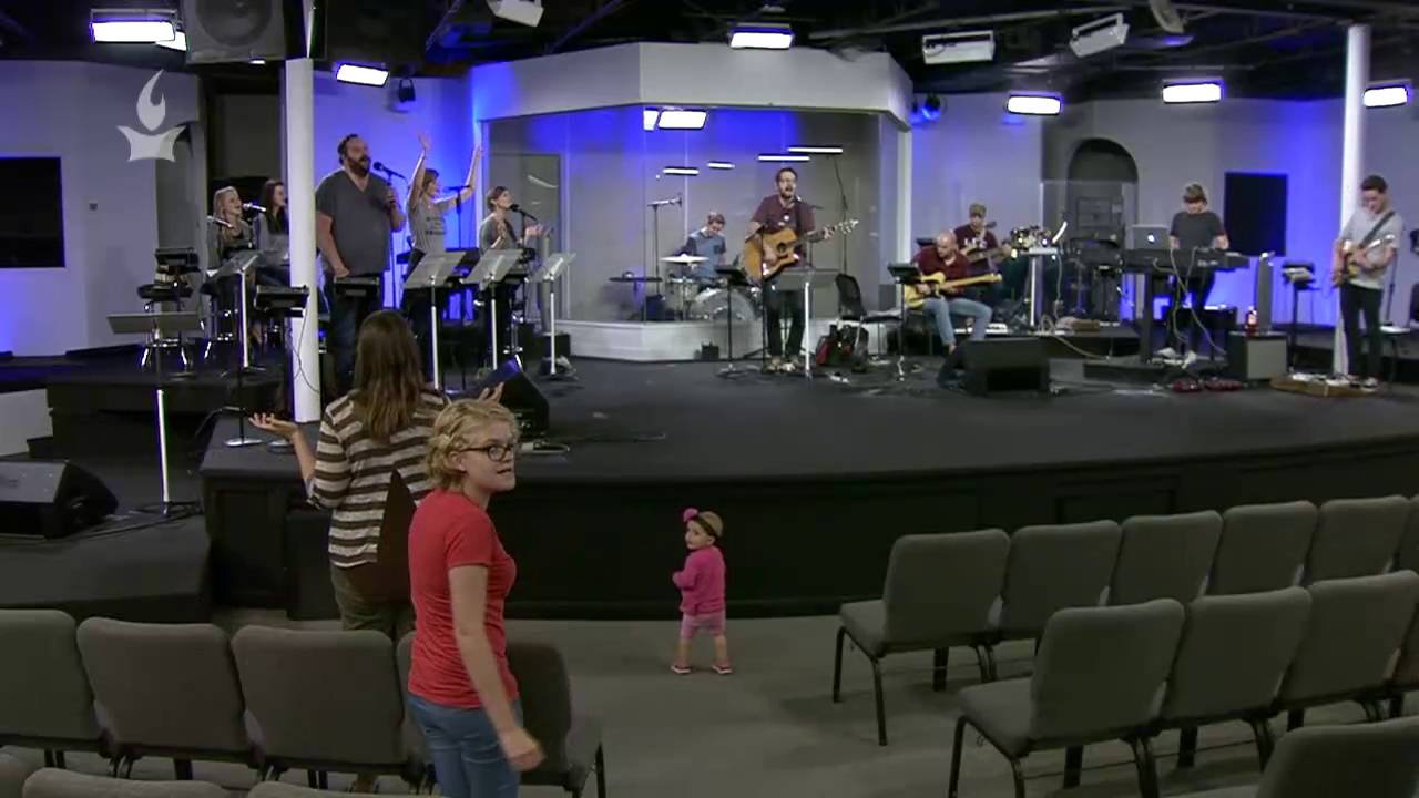 Crazy Baby Storms Stage At IHOPKC Prayer Room Part 65