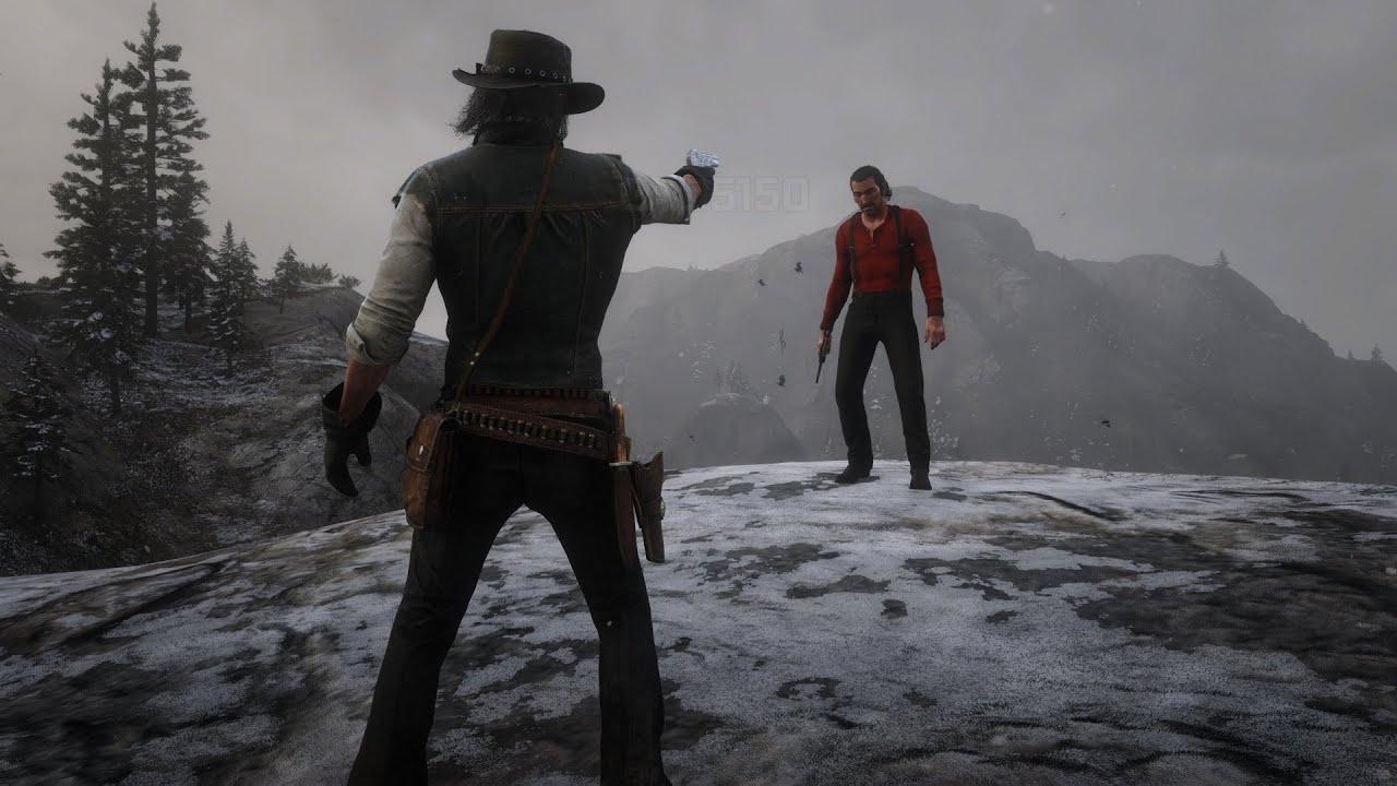 Dutch's Death in Red Dead Redemption 2