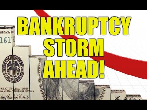 BANKRUPTCY STORM AHEAD, DEBT STATES OF AMERICA, STIMULUS FAIL, FINANCIAL TSUNAMI 2020, UNEMPLOYMENT