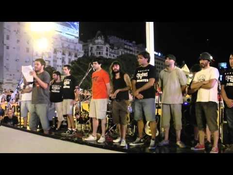 Discurso Nico Bustamante (Mal Paso) - Obelisco 30-12-2012 streaming vf