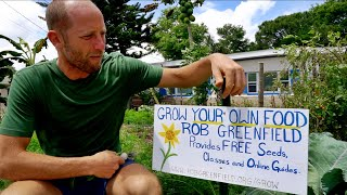 Growing & Foraging 100% of His Food WITHOUT LAND OF HIS OWN:...