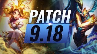 Best Champions TIER List – League of Legends Patch 9.18